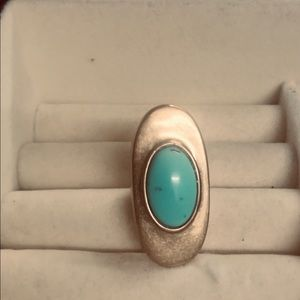Lucky brand turquoise ring